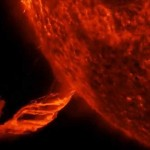 Observatorio de Dinámica Solar de la NASA captó este martes la mayor erupción solar de los últimos tiempos, en dirección que no afectará la Tierra