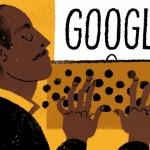 Doodle de Google en 113er aniversario de Langston Hughes clave del Renacimiento de Harlem