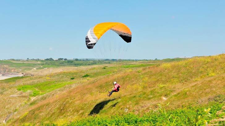 Volar en parapente en Uruguay