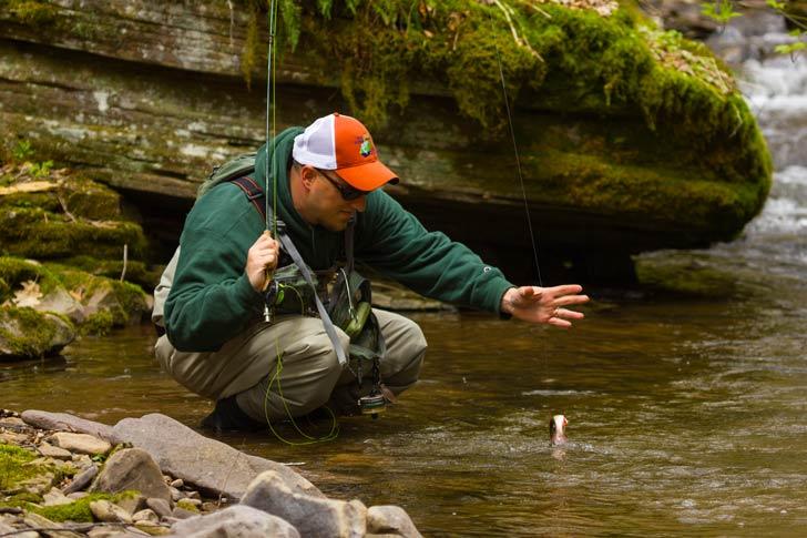 La pesca deportiva de bagre, dorado y tararira es una actividad ideal de fin de semana / Foto: Chesapeak Bay Program