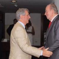 Tabaré Vázquez se reunió con el ex Rey Juan Carlos de España
