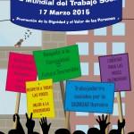 """Día Internacional del Trabajo Social con la consigna """"Promover la dignidad y el valor de las personas"""""""