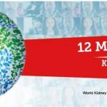 """Este 12 de marzo es el Día Mundial del Riñón que este año nos invita a """"Brindar con más agua que nunca"""""""