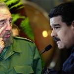 """Cuba da """"incondicional apoyo"""" al Gobierno de Venezuela y Fidel le envía carta a Maduro"""