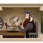 Doodle de Google recuerda a Gerardus Mercator, el cartógrafo que revolucionó los mapas mundiales