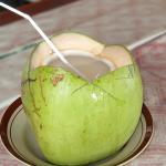 Agua de coco no sólo para el Caribe y Brasil