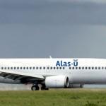 Llegó a Montevideo el primer avión de Alas-Uruguay, empresa recuperada por los trabajadores