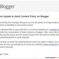 Los usuarios le ganan a Google que ya no bloqueará contenido sexual explícito de su Blogger
