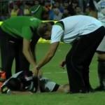 Carlos Bueno sufrió la fractura de tibia y peroné y estará fuera de las canchas al menos seis meses