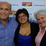 Al conmemorarse el 44o aniversario del primer acto de masas del Frente Amplio los tres candidatos a la Intendencia de Montevideo compartirán el estrado