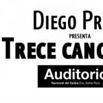 """Diego Presa presenta """"Trece canciones"""""""