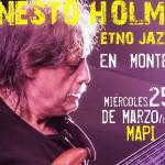 Ernesto Holman, destacado bajista chileno, llega al Uruguay