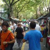 Daniel Martínez propone instalar baños públicos en todas las ferias de Montevideo