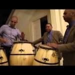 """Daniel """"tatita"""" Márquez y Wynton Marsalis comparten excepcional momento de candombe en la embajada de EE.UU."""