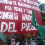 Campesinos paraguayos reclaman la renuncia del presidente Horacio Cartes en el marco de una multitudinaria marcha