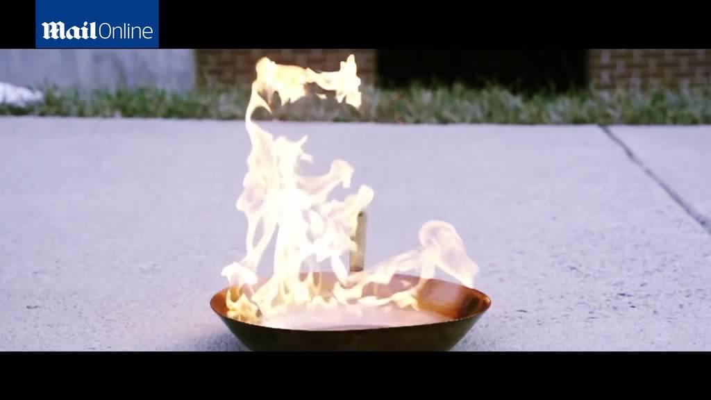 Extinguidor del futuro: desarrollado en la Universidad Mason (Virginia, EE.UU.) apaga el fuego mediante ondas sonoras de baja frecuencia