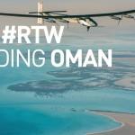 El avión Solar Impulse 2 aterriza en Oman, su primera escala