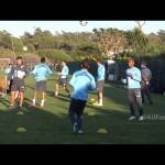 La selección uruguaya se encuentra en Portugal preparando el amistoso ante Marruecos