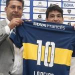 """Nicolás Lodeiro disfruta su estadía en Boca: """"Sabía que el desafío era grande, hoy disfruto llevar esta camiseta tan grande"""""""