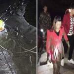 Viral en China: la novia y la ex pareja del mismo joven se tiran a un río para que elija a cual salvar