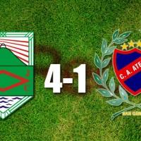 Rampla derrotó 4-1 a Atenas en el encuentro pendiente por la quinta fecha del Torneo Clausura