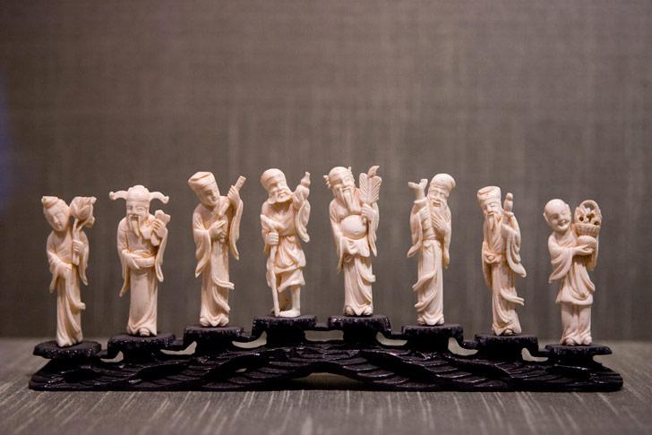 Los tallados en marfil son tradicionales en China / Foto: Lin Mei