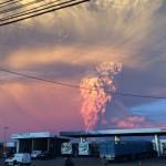 Vuelos hacia Uruguay cancelados por cenizas del volcán Calbuco