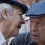 El adiós a Eduardo Galeano por Daniel Viglietti y Mauricio Rosencoff
