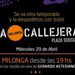 Culmina temporada 2014-2015 de la Milonga Callejera