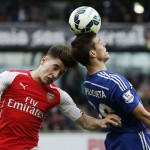 Chelsea empató sin goles ante Arsenal y quedó a un paso del título de la Premier League