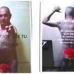 Candidato del PSOE ordena colgar afiches que lo muestran desnudo cubiertas sus intimidades con una rosa