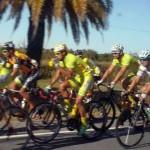 El chileno Oyarzún ganó la contrarreloj y es nuevo líder de la Vuelta Ciclista del Uruguay