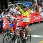 El chileno Carlos Oyarzún ganó la Vuelta Ciclista del Uruguay