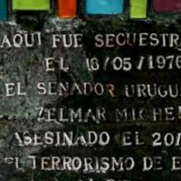Uruguayos en Argentina instalarán nueva baldosa en memoria de Michelini, Gutiérrez Ruiz, Barredo y Whitelaw