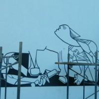 El Mural de la Paz Mundial está siendo pintado en Florida