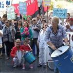Funcionarios de Hospital Español reclaman aumento salarial, más personal y mejores condiciones laborales