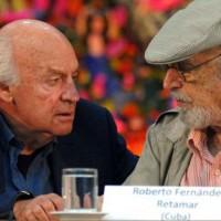 Roberto Fernández Retamar, presidente de Casa de las Américas, lamenta deceso de Eduardo Galeano