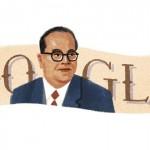 Doodle de Google en los 124 años de B.R. Ambedkar que a la par de Gandhi liberó a la India