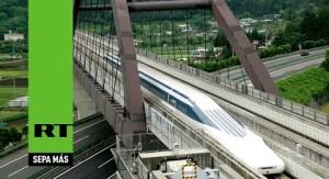 En menos de una semana, el tren bala de Japón rompe por segunda vez el récord mundial de velocidad a 603 quilómetros por hora