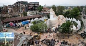 Devastador terremoto en Nepal destruyó construcciones declaradas como Patrimonio de la Humanidad