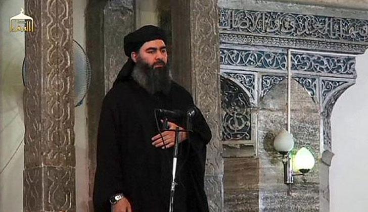 Abu Bakr al Bagdadi, líder del Estado Islámico. No se sabe si está vivo o si ha sido abatido por algún ejército extranjero. Foto: Wikimedia Commons