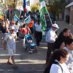 Tacuarembó: Primer Marcha de las Comunidades en defensa del Acuífero Guaraní con delegaciones internacionales