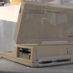 Cumple 30 años la primera computadora portátil: la Toshiba T1110 pesaba 4 kilos y vendieron 10.000 en un año