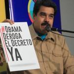 Venezuela entregará a Obama 10 millones de firmas contra sus sanciones al Gobierno de Maduro