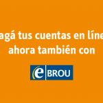 Pagos a la Intendencia se pueden hacer por e-Brou