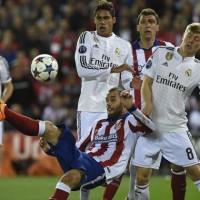 El derbi entre Atlético y Real Madrid terminó en empate sin goles; Juventus sacó ventaja ante Mónaco