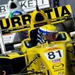 El uruguayo Santiago Urrutia ganó su primera carrera en la categoría Pro Mazda