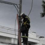 UTE advierte por riesgos que implica la colocación de carteles en cercanía de líneas del tendido eléctrico