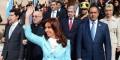 Cristina Fernández asiste al Tedeum en la Basílica de Lujan en conmemoración de los 205 de la Revolución de Mayo