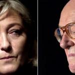 """Jean-Marie Le Pen """"traicionado"""" por su hija que lo echó del Frente Nacional pide que """"me devuelva el apellido"""""""